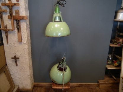 Lamp emaille groot