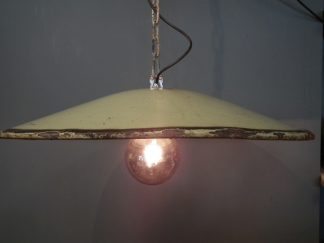 Lamp emaille schotel