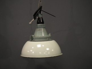 lamp emaille groen 4