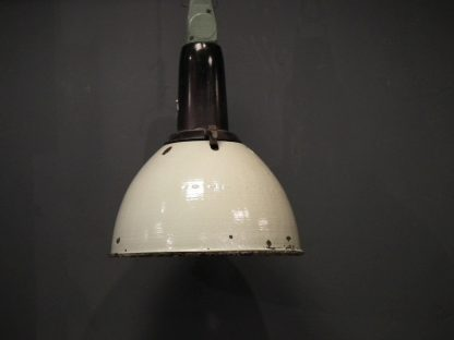 Lamp emaille groen 3