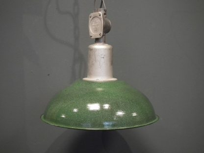 Lamp emaille d groen