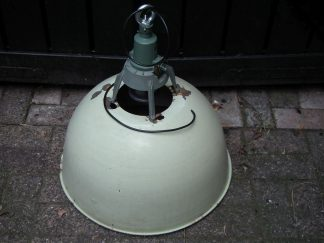 lamp emaille groot groen 03